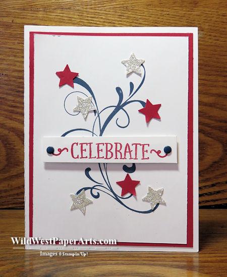 Celebrate Glitter at WildWestPaperArts.com