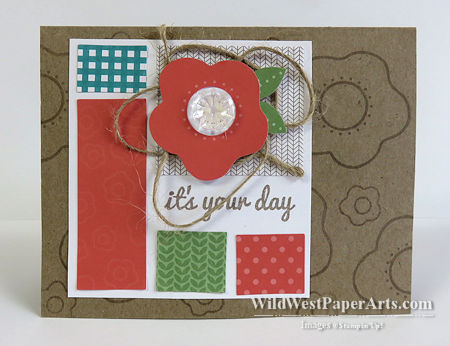 Happy Thoughts with Paper Pumpkin June 2015 at WildWestPaperArts.com
