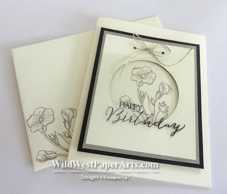 Happy Buttefly Basics Birthday at WildWestPaperArts.com