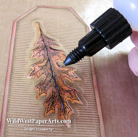 Fine Tip Glue Product Review at WildWestPaperArts.com