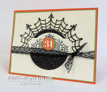 Web Design Halloween Style at WildWestPaperArts.com