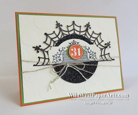 Weave a Tangled Web at WildWestPaperArts.com