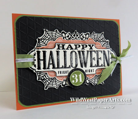 Fright Night + Tiny Triangles at WildWestPaperArts.com