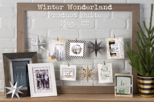 Winter Wonderland Product Suite at WildWestPaperArts.com
