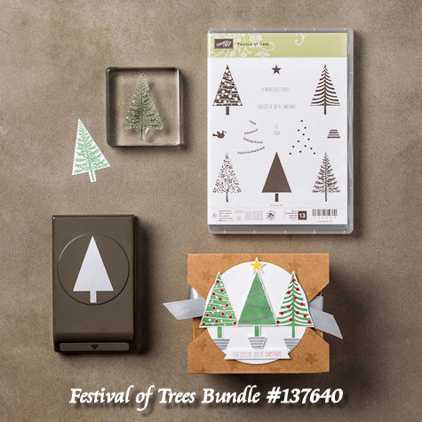 Festival of Trees Bundle 137640 a WildWestPaperArts.com