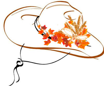 November Cowboy Hat at WildWestPaperArts.com