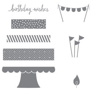 Build a Birthday Photopolymer Stamp Set 138646 at WildWestPaperArts.com