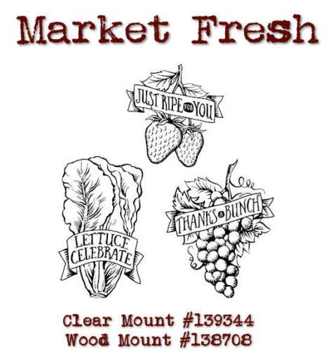 Market Fresh at WildWestPaperArts.com