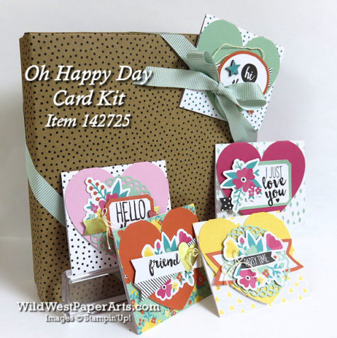 Oh Happy Day Card Kit Item 142725 at WildWestPaperArts.com
