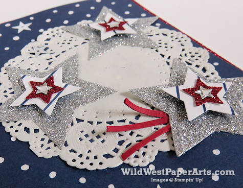 Patriot Birthday Card for PPA306 at WildWestPaperArts.com