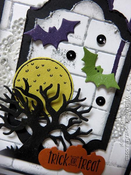 Spooky Fun Sneak Peek at WildWestPaperArts.com