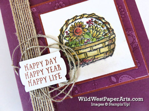 Your Basket of Wishes for PPA318 at WildWestPaperArts.com