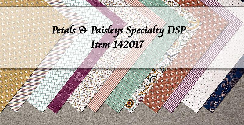 Petals & Paisleys Specialty DSP at WildWestPaperArts.com