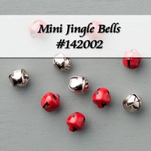 Mini Jingle Bells Item 142002 at WildWestPaperArts.com