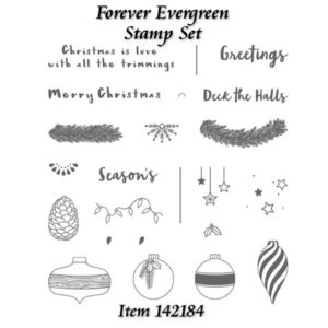 Forever Evergreen Stamp Set at WildWestPaperArts.com