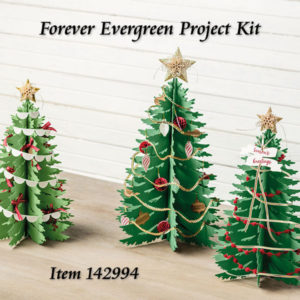 Forever Evergreen Project Kit at WildWestPaperArts.com