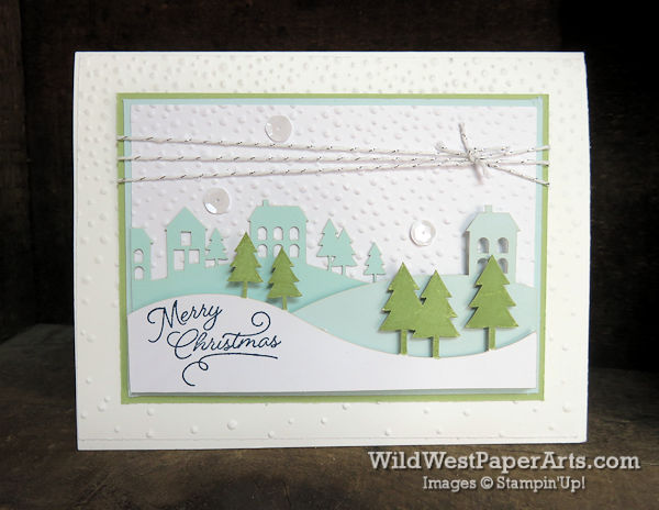 Wonderful Winterland Season at WildWestPaperArts.com