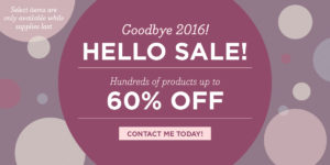 Stampin' UP! Year End Closeouts 2016 at WildWestPaperArts.com