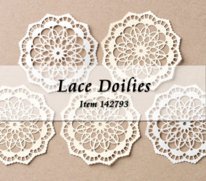 Lace Doilies 142793 at Wild West Paper Arts