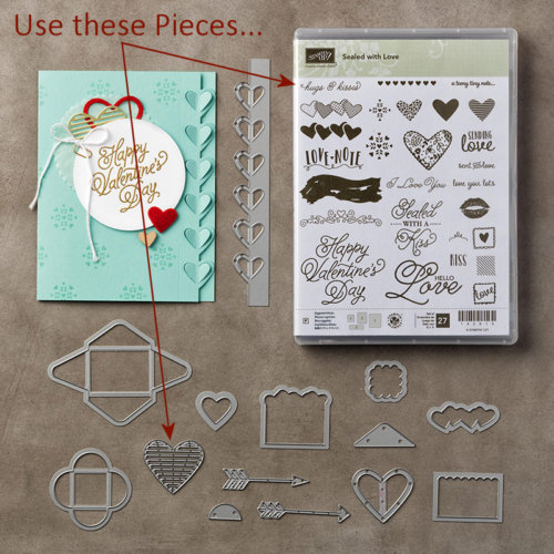 Sealed with Love Bundle at Wild West Paper Arts