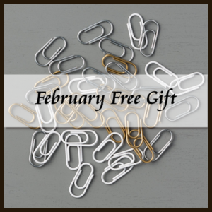 Mini Paper Clip Combo Pack #142766 Free Gift at Wild West Paper Arts