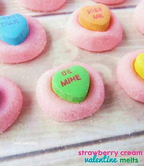 Strawberry Cream Valentine Melts at Wild West Paper Arts.com