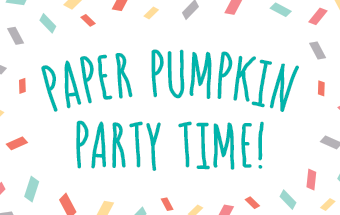 Weekly Updates April 5, 2017 Paper Pumpkin Turns 4! at Wild West Paper Artts