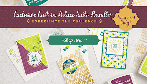 Exclusive Eastern Palace Suite Bundles at Wild West Paper Arts