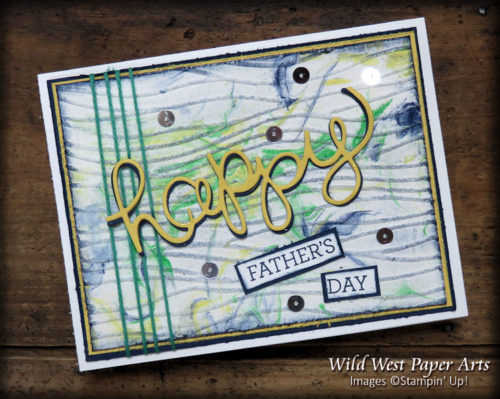 Stepping Up with Textures or Techniques at Wild West Paper Arts