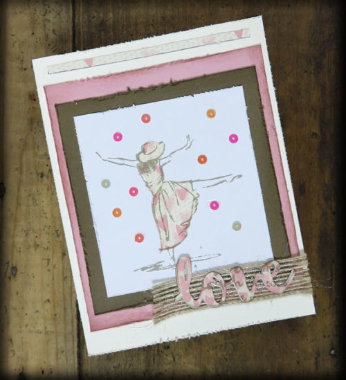 Beautiful Gift of You Card at WildWestPaperArts.com