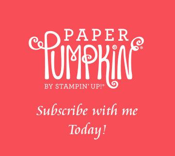 Paper Pumpkin Button at WildWestPaperArt.com