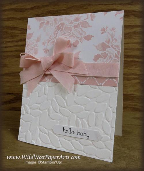 Babies, Birthdays and Brides at WildWestPaperArts.com