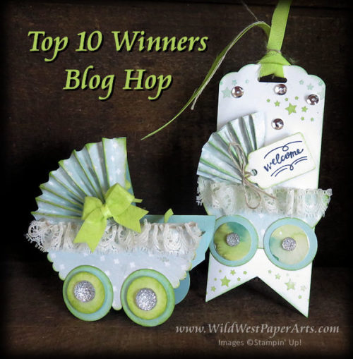 June International Blog Hop Buggy  at WildWestPaperArts.com