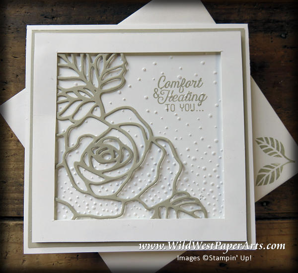 Caring Thoughts, Healing Hearts at WildWestPaperArts.com