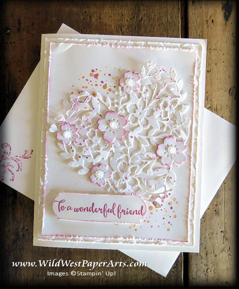 Love of Wonderful Friendships at WildWestPaperArts.com