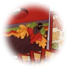 Fall Accordian File and Card Set