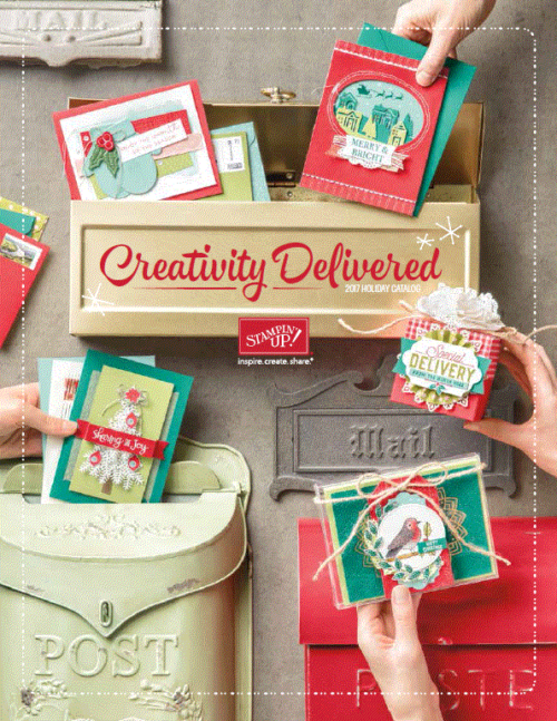 Stampin' Up! 2017 Holiday Catalog at WildWestPaperArts.com