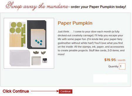 Paper Paper Pumpkin Enter Quantity Screen