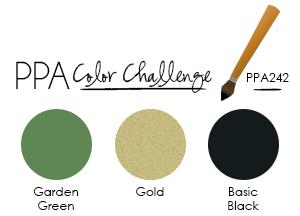PPA242 Color Challenge at WildWestPaperArts.com