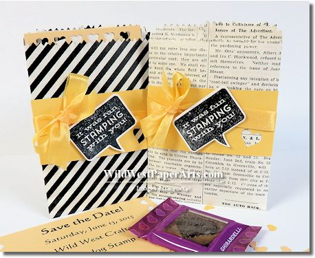 Mini Treat Goodie Bag from Wild West Occasions Stamp Camp
