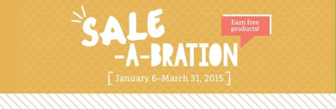 Sale-A-Bration Banner