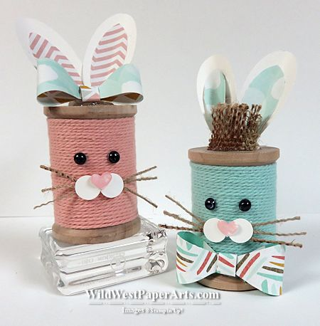 Easter Bunny Parade at Wild West Paper Arts