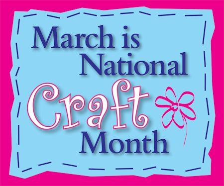 National Craft Month at WildWestPaperArts.com