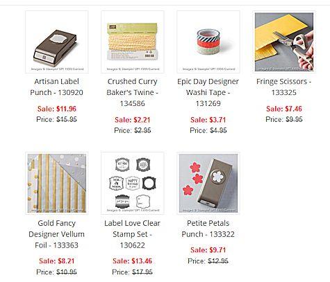 Weekly Deals March 24-30 at WildWestPaperArts.com