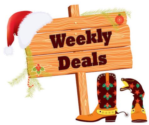 Weekly Deals December