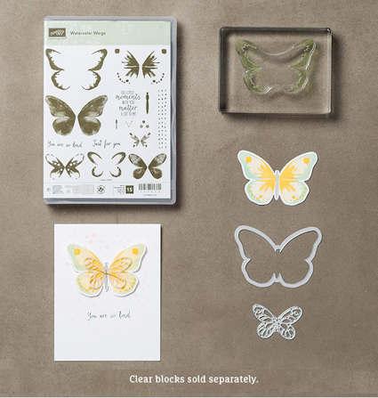 Watercolor Wings Bundle 140232