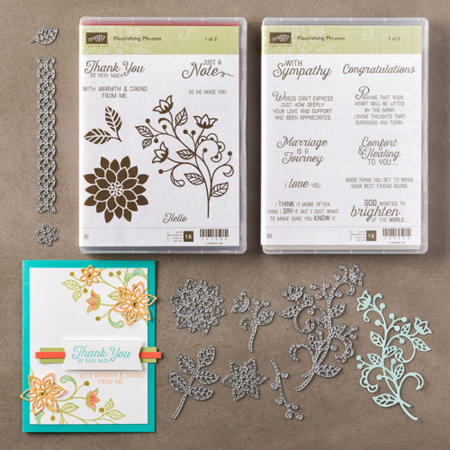 Flourishing Phrases Bundle 142323 at WildWestPaperArts.com