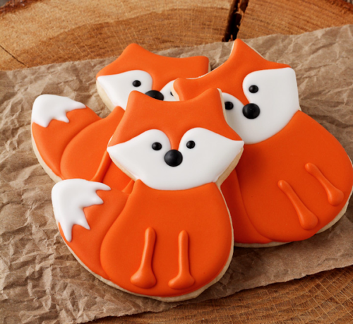 Fox Cookies at Wild West Paper Arts