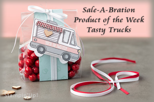 Sale-A-Bration Product of the Week - Tasty Trucks at Wild West Paper Arts