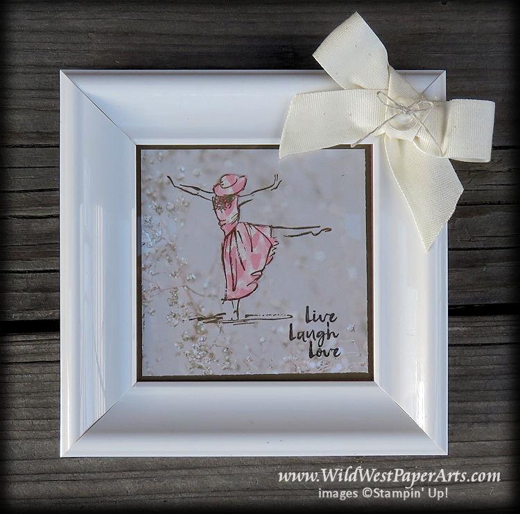 Beautiful Gift of You Frame at WildWestPaperArts.com